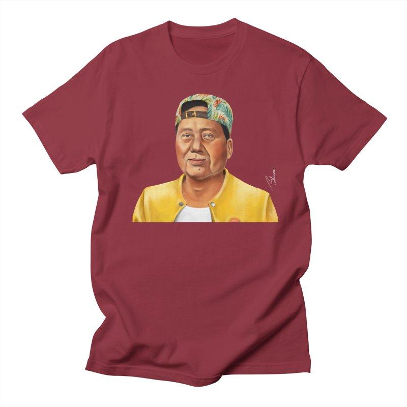 Mao Zedong Men's T-shirt by shimoni's Artist Shop