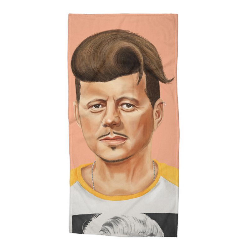 John F. Kennedy Accessories Beach Towel by shimoni's Artist Shop