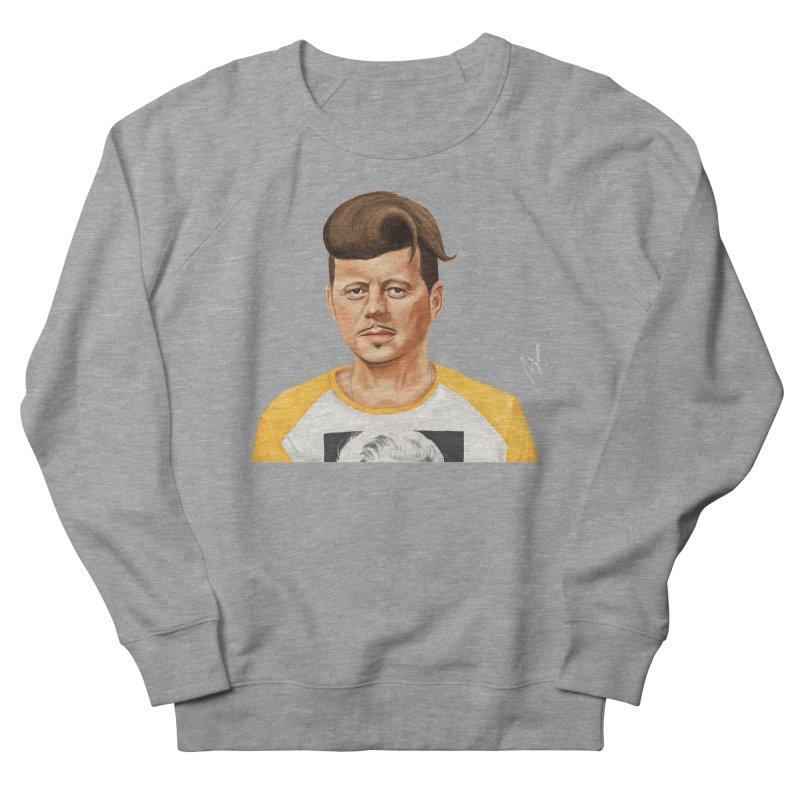 John F. Kennedy Men's Sweatshirt by shimoni's Artist Shop