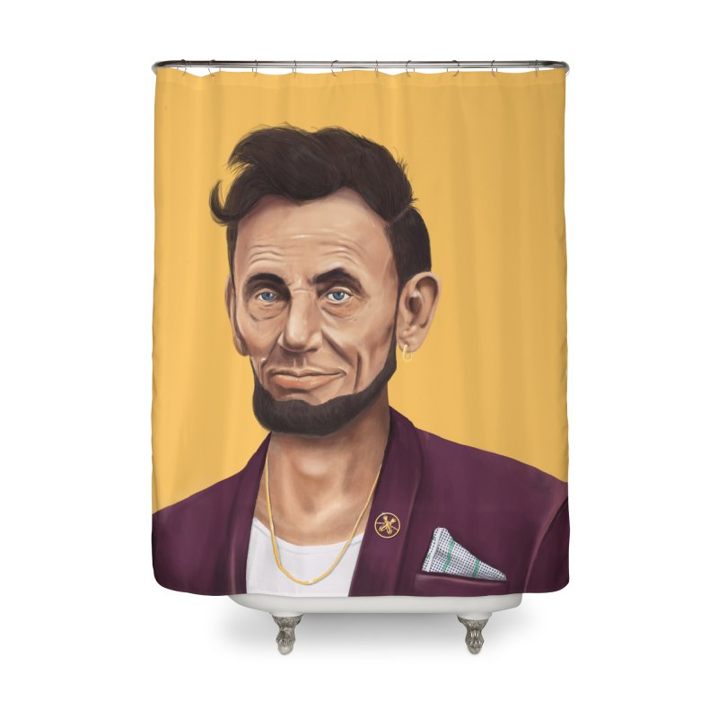 Abraham Lincoln Home Shower Curtain by shimoni's Artist Shop