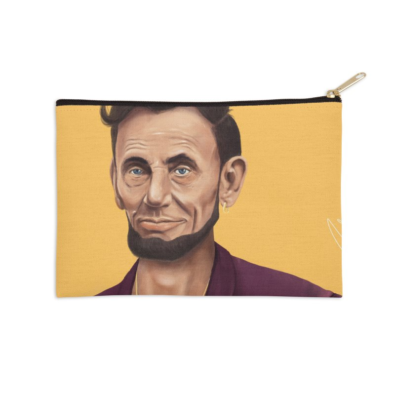 Abraham Lincoln Accessories Zip Pouch by shimoni's Artist Shop