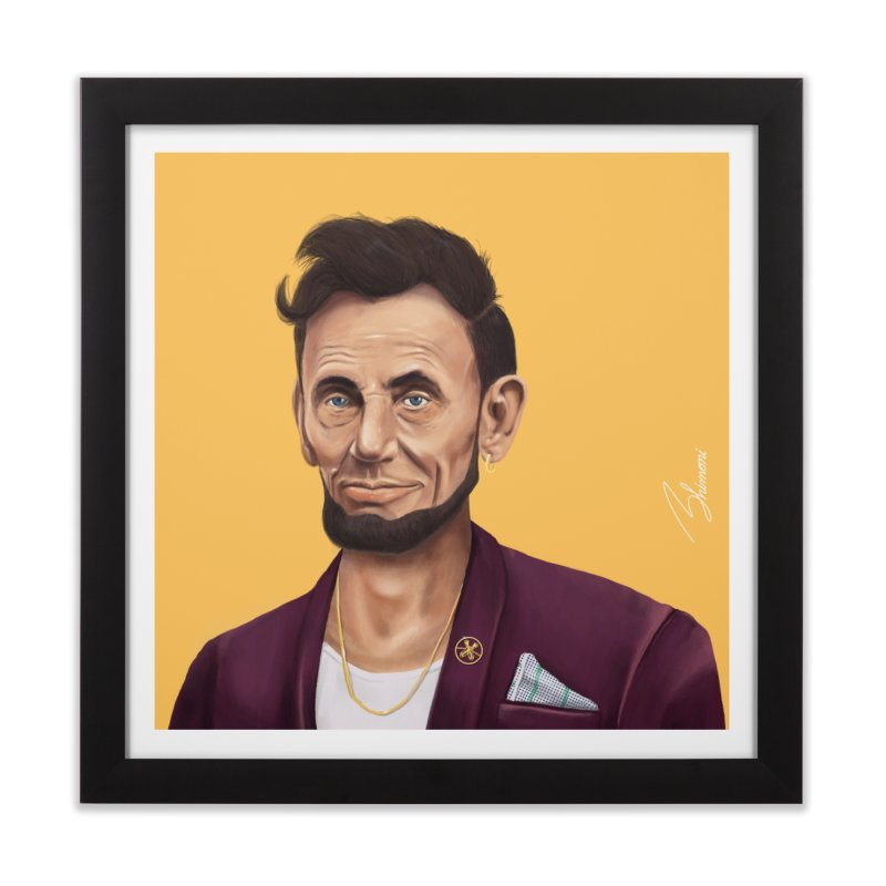 Abraham Lincoln Home Framed Fine Art Print by shimoni's Artist Shop