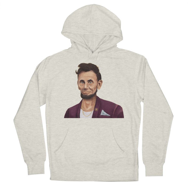 Abraham Lincoln Men's Pullover Hoody by shimoni's Artist Shop