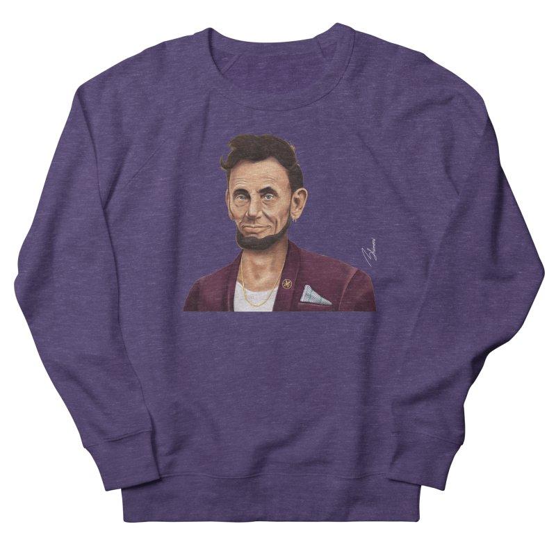Abraham Lincoln Women's Sweatshirt by shimoni's Artist Shop