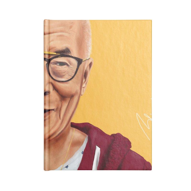 Dalai Lama Accessories Notebook by shimoni's Artist Shop