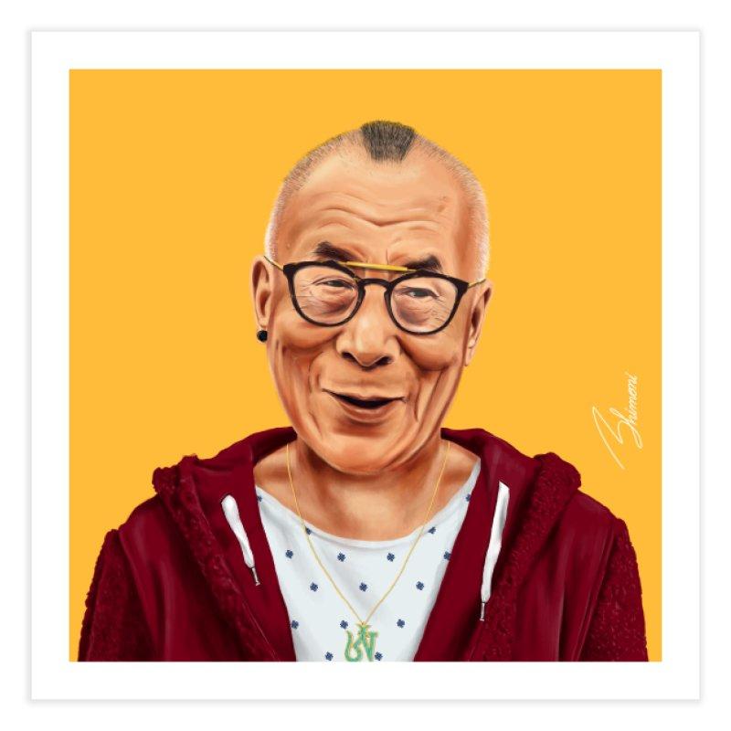 Dalai Lama Home Fine Art Print by shimoni's Artist Shop