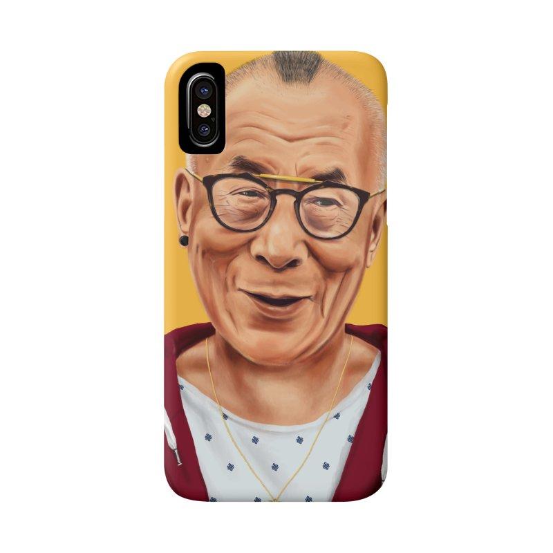 Dalai Lama Accessories Phone Case by shimoni's Artist Shop