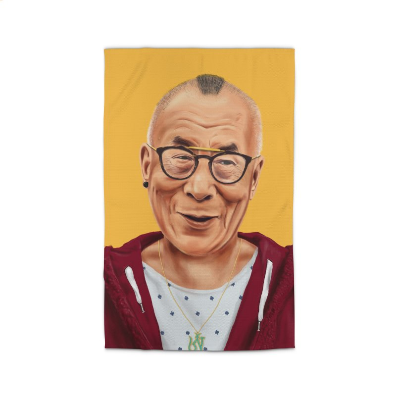 Dalai Lama Home Rug by shimoni's Artist Shop