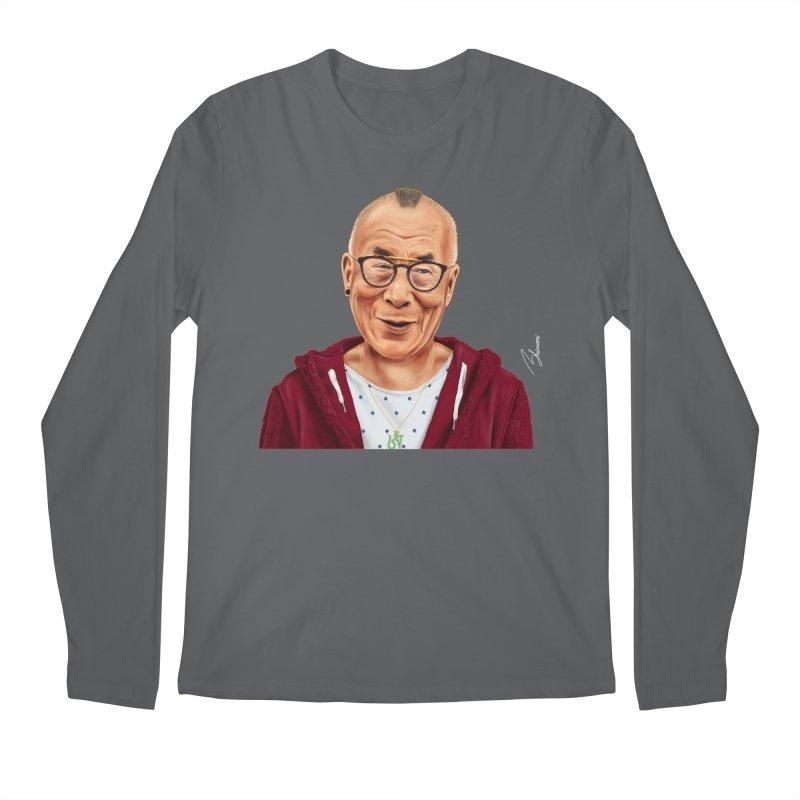 Dalai Lama Men's Longsleeve T-Shirt by shimoni's Artist Shop