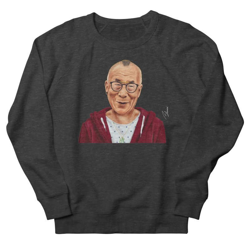 Dalai Lama Women's Sweatshirt by shimoni's Artist Shop