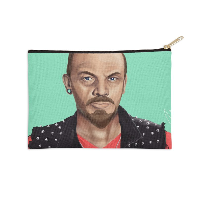 Vladimir Lenin Accessories Zip Pouch by shimoni's Artist Shop