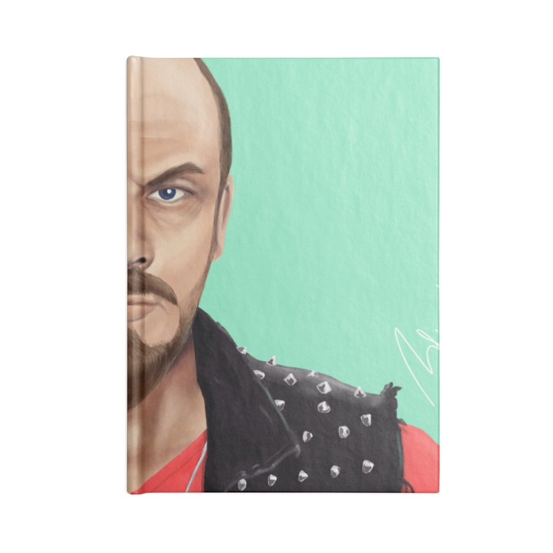Vladimir Lenin Accessories Notebook by shimoni's Artist Shop