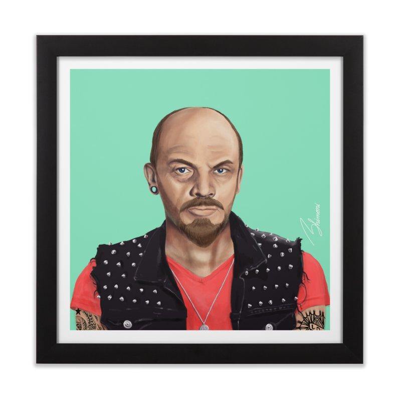 Vladimir Lenin Home Framed Fine Art Print by shimoni's Artist Shop