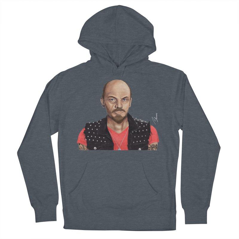 Vladimir Lenin Men's Pullover Hoody by shimoni's Artist Shop