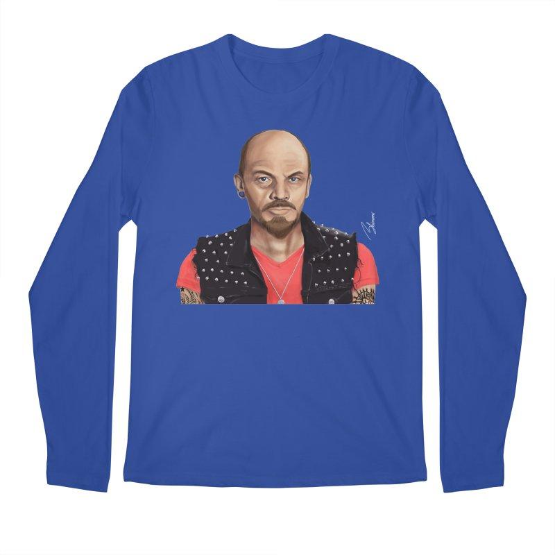 Vladimir Lenin Men's Longsleeve T-Shirt by shimoni's Artist Shop