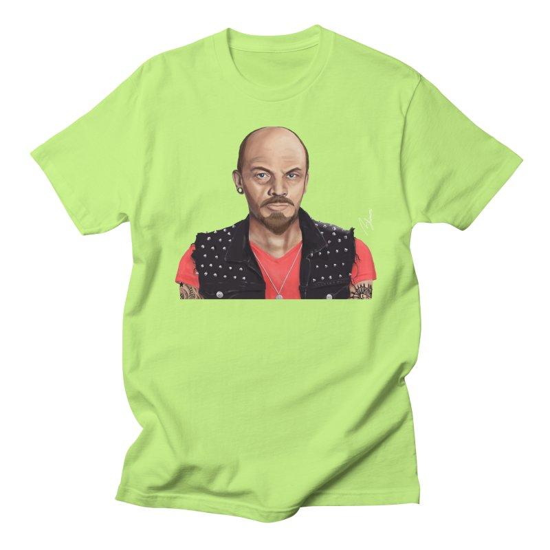 Vladimir Lenin Men's T-shirt by shimoni's Artist Shop