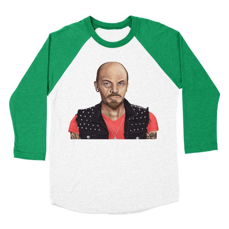 Vladimir Lenin Men's Baseball Triblend T-Shirt by shimoni's Artist Shop
