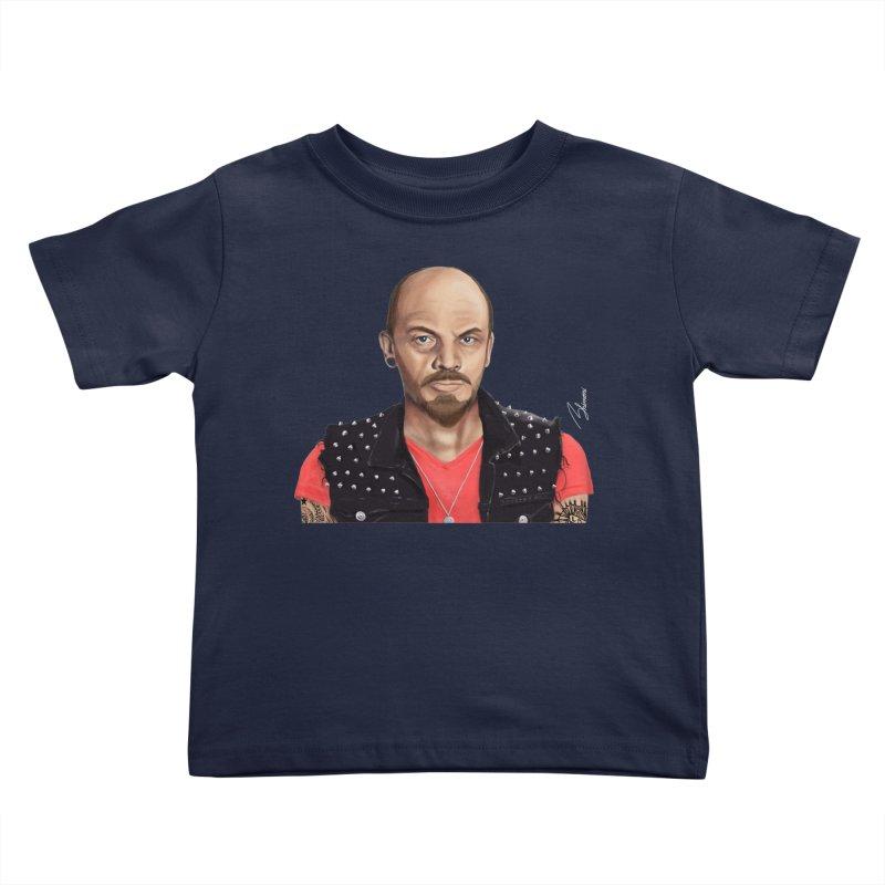 Vladimir Lenin Kids Toddler T-Shirt by shimoni's Artist Shop