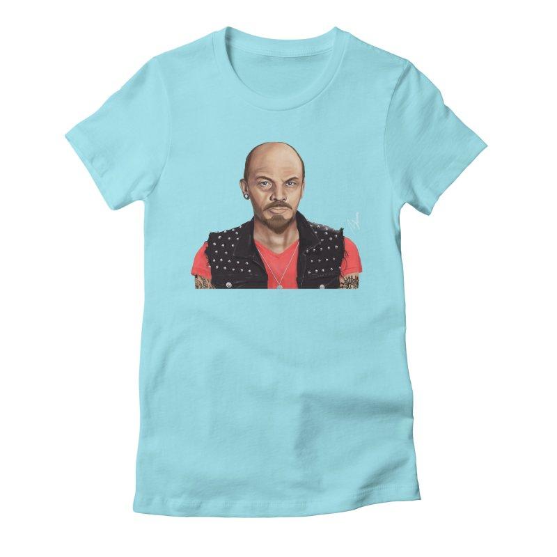 Vladimir Lenin Women's Fitted T-Shirt by shimoni's Artist Shop