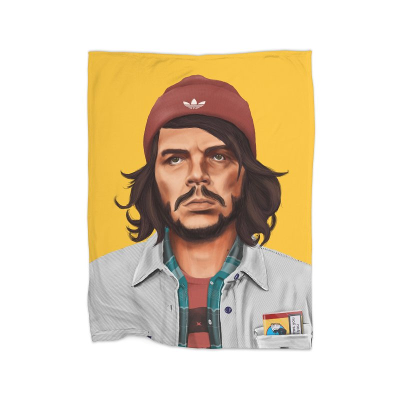 Che Guevara  Home Blanket by shimoni's Artist Shop