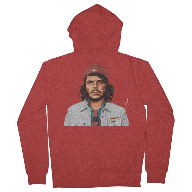 Che Guevara  Men's Zip-Up Hoody by shimoni's Artist Shop