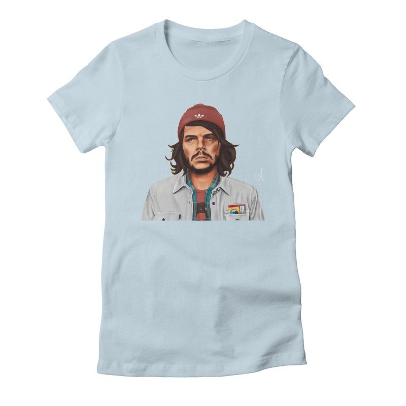 Che Guevara  Women's Fitted T-Shirt by shimoni's Artist Shop