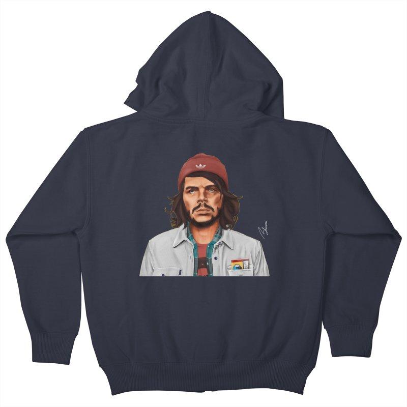 Che Guevara  Kids Zip-Up Hoody by shimoni's Artist Shop