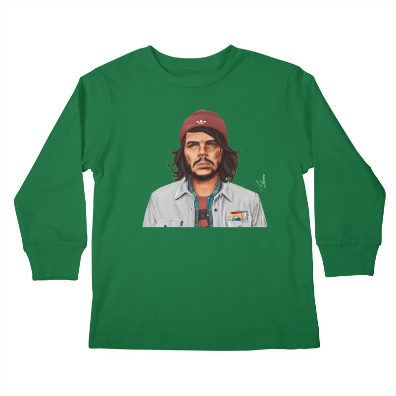 Che Guevara  Kids Longsleeve T-Shirt by shimoni's Artist Shop