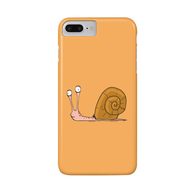 Funny snail Accessories Phone Case by shiningstar's Artist Shop