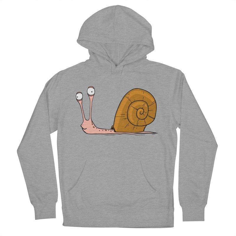 Funny snail Men's Pullover Hoody by shiningstar's Artist Shop
