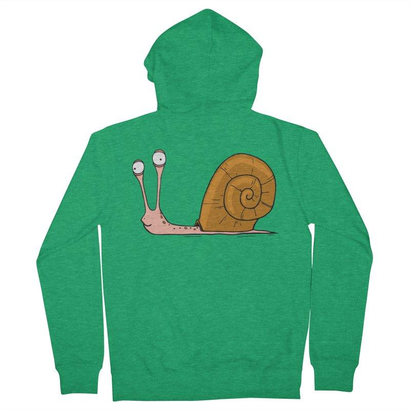 Funny snail Women's Zip-Up Hoody by shiningstar's Artist Shop