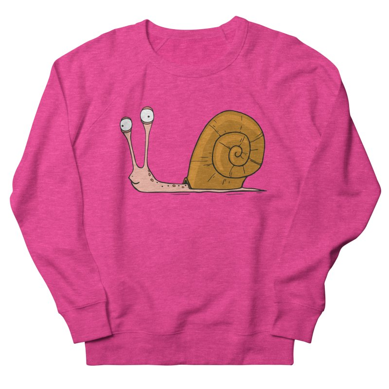 Funny snail Women's Sweatshirt by shiningstar's Artist Shop