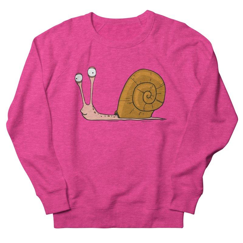 Funny snail Men's Sweatshirt by shiningstar's Artist Shop