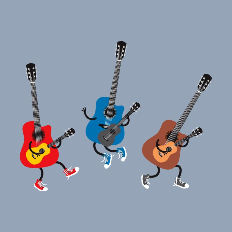 Dancing guitars None  by shiningstar's Artist Shop