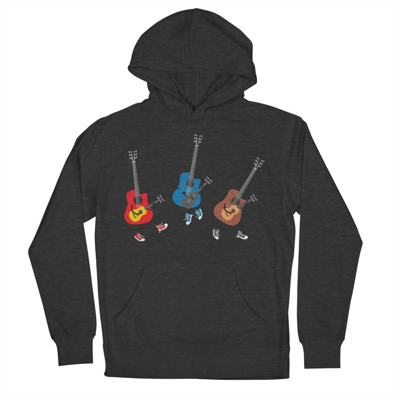Dancing guitars Women's Pullover Hoody by shiningstar's Artist Shop