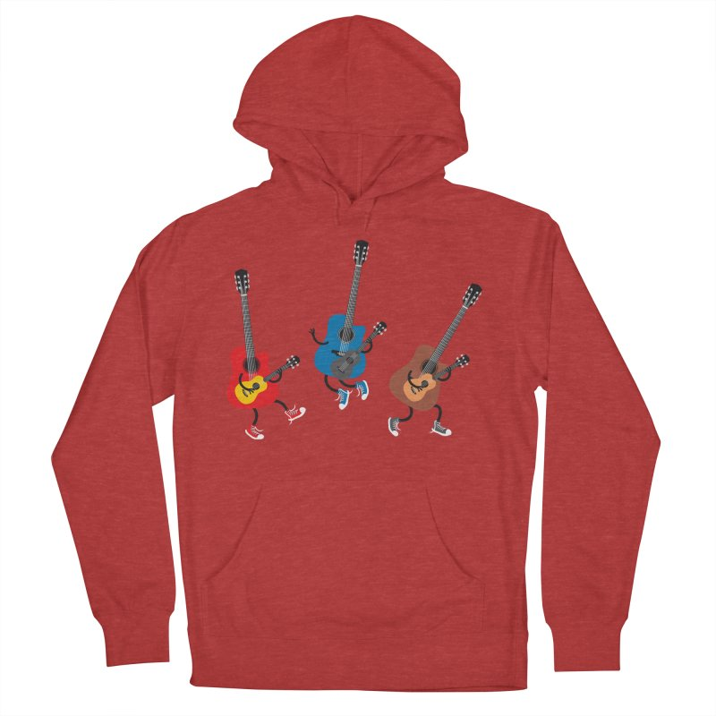 Dancing guitars Women's Pullover Hoody by shiningstar's Artist Shop