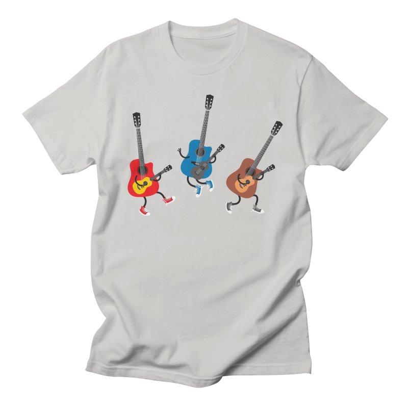 Dancing guitars Men's T-shirt by shiningstar's Artist Shop