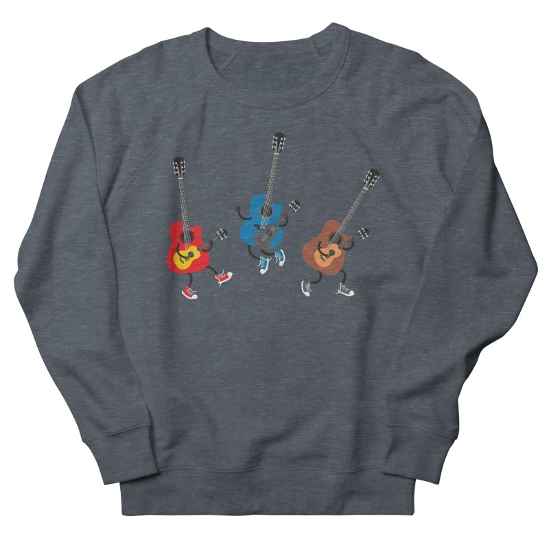 Dancing guitars Women's Sweatshirt by shiningstar's Artist Shop