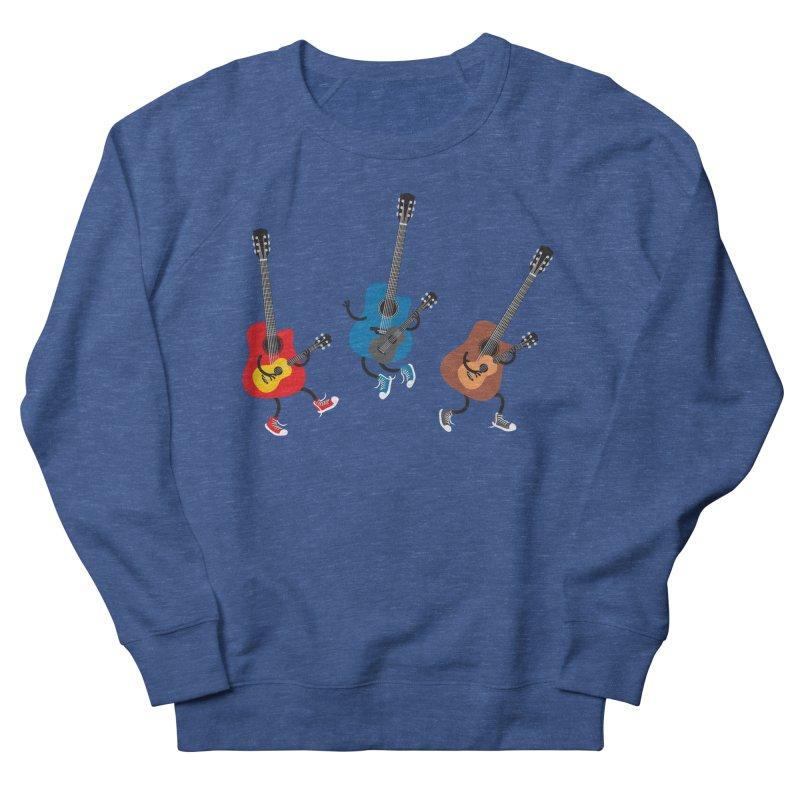Dancing guitars Men's Sweatshirt by shiningstar's Artist Shop