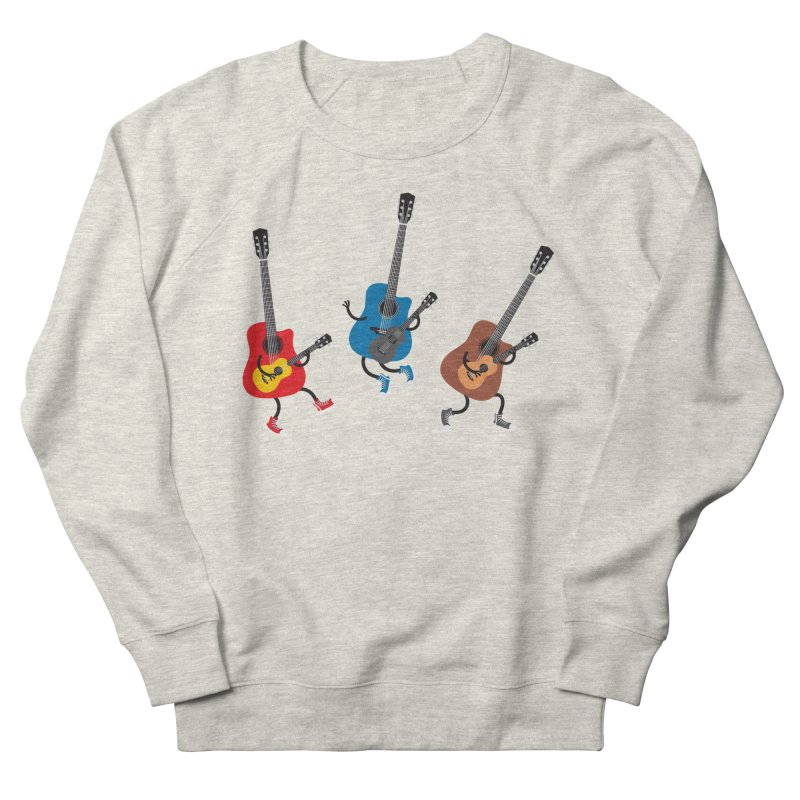 Dancing guitars Men's Sweatshirt by shiningstar's Artist Shop