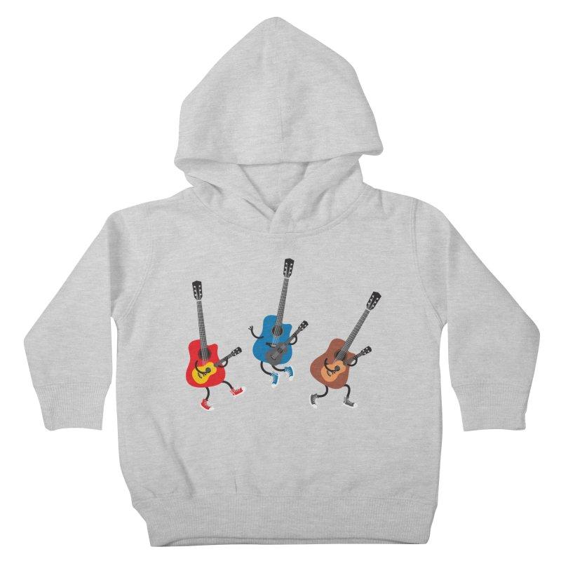 Dancing guitars Kids Toddler Pullover Hoody by shiningstar's Artist Shop