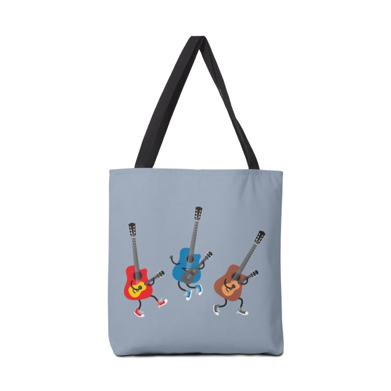 Dancing guitars Accessories Bag by shiningstar's Artist Shop