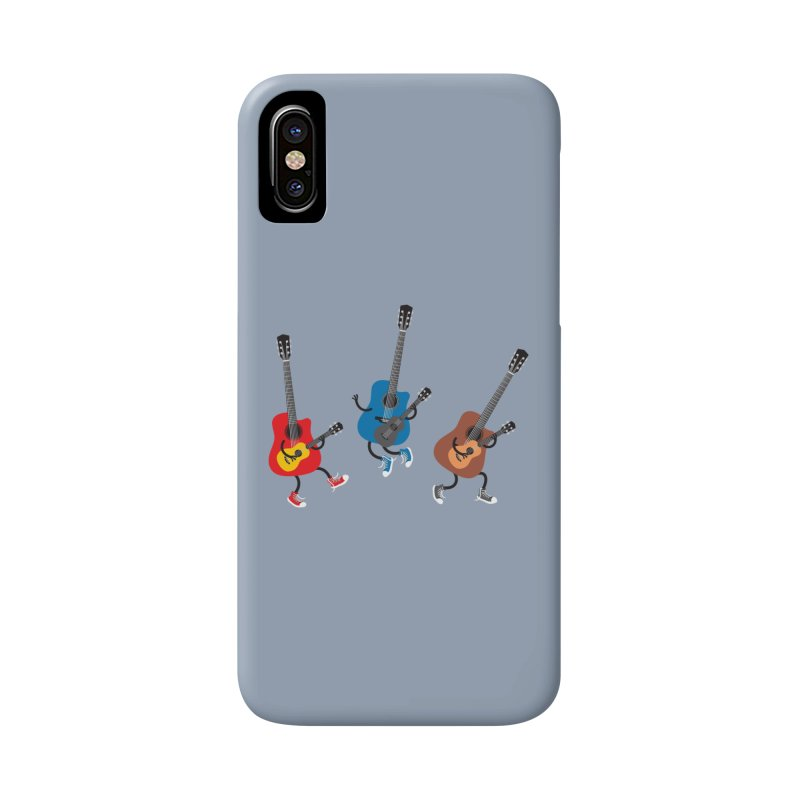 Dancing guitars Accessories Phone Case by shiningstar's Artist Shop