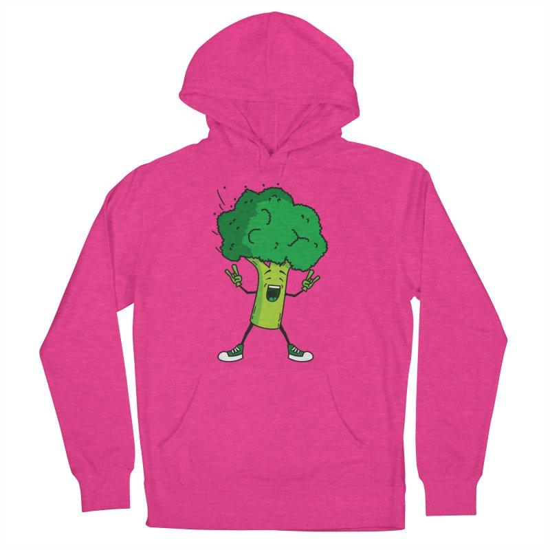 Broccoli rocks! Women's Pullover Hoody by shiningstar's Artist Shop