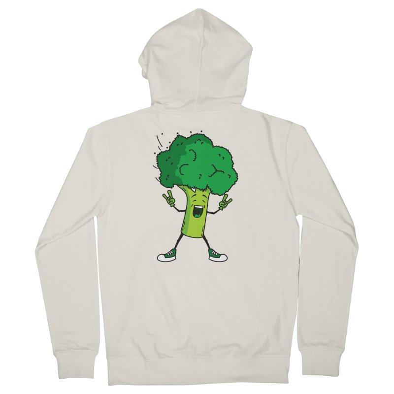 Broccoli rocks! Women's Zip-Up Hoody by shiningstar's Artist Shop