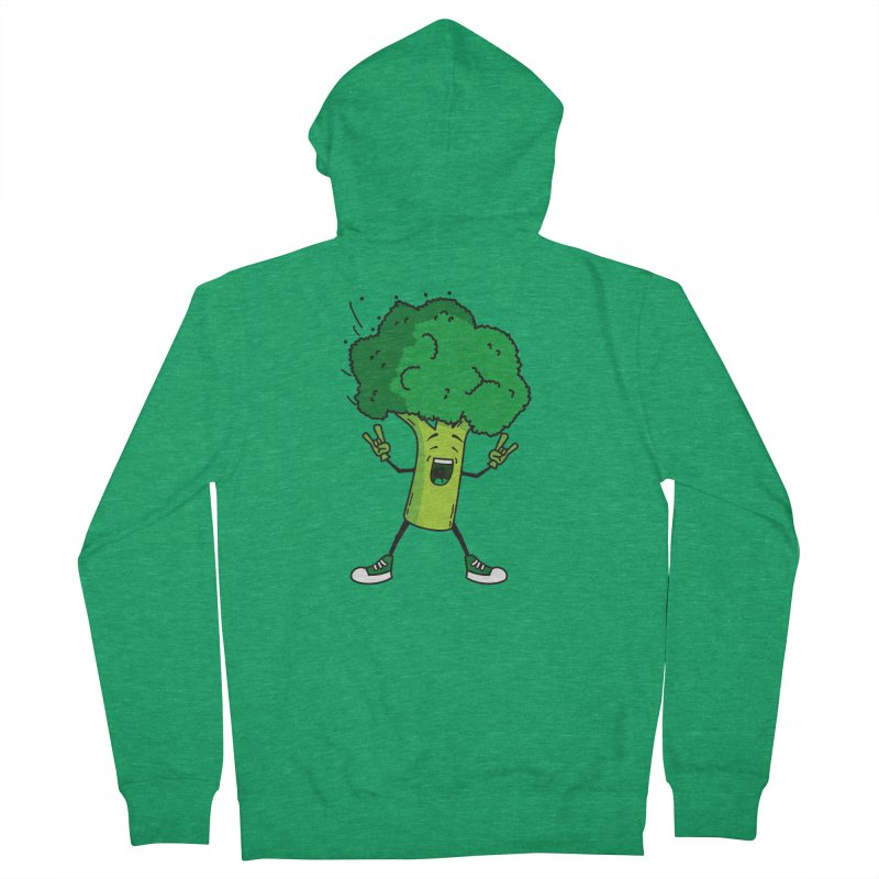 Broccoli rocks! Men's Zip-Up Hoody by shiningstar's Artist Shop