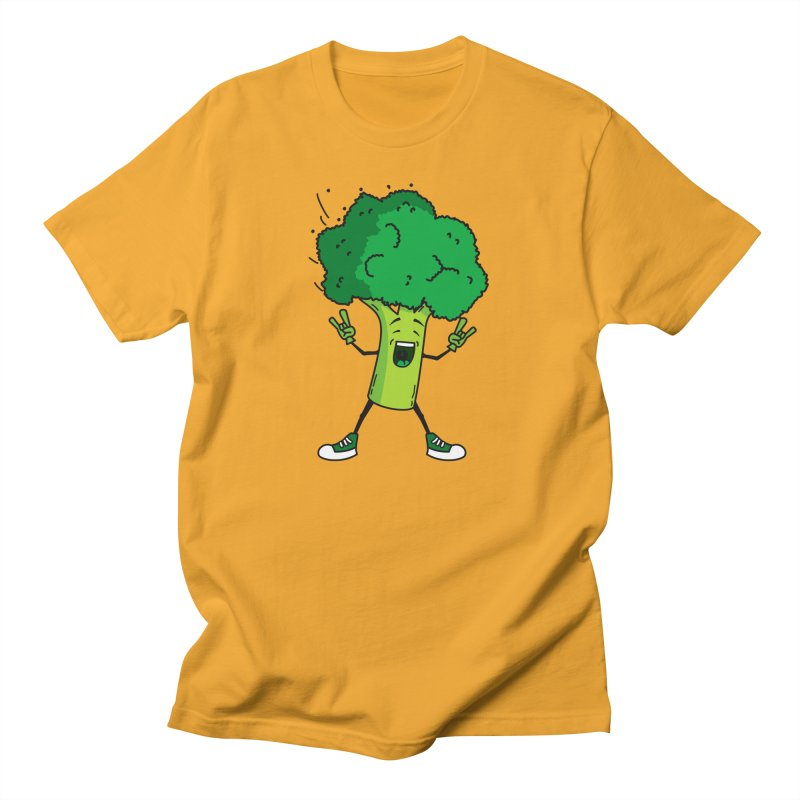 Broccoli rocks! Men's T-shirt by shiningstar's Artist Shop