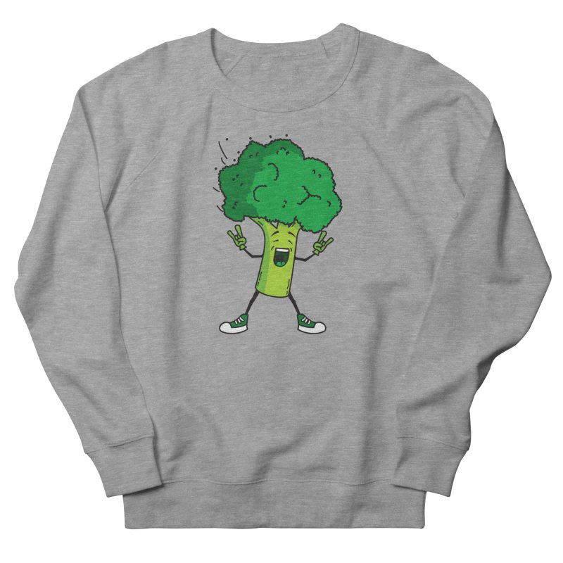 Broccoli rocks! Men's Sweatshirt by shiningstar's Artist Shop