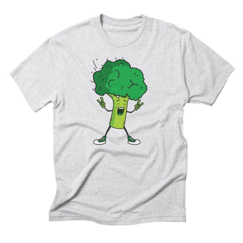 Broccoli rocks! Men's Triblend T-Shirt by shiningstar's Artist Shop