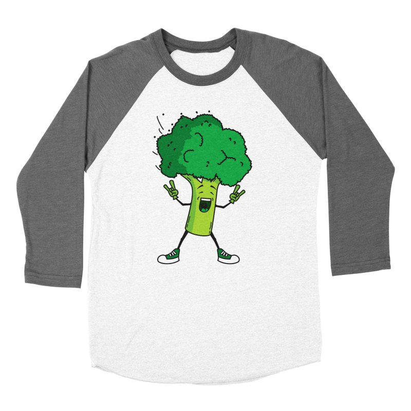 Broccoli rocks! Women's Baseball Triblend T-Shirt by shiningstar's Artist Shop